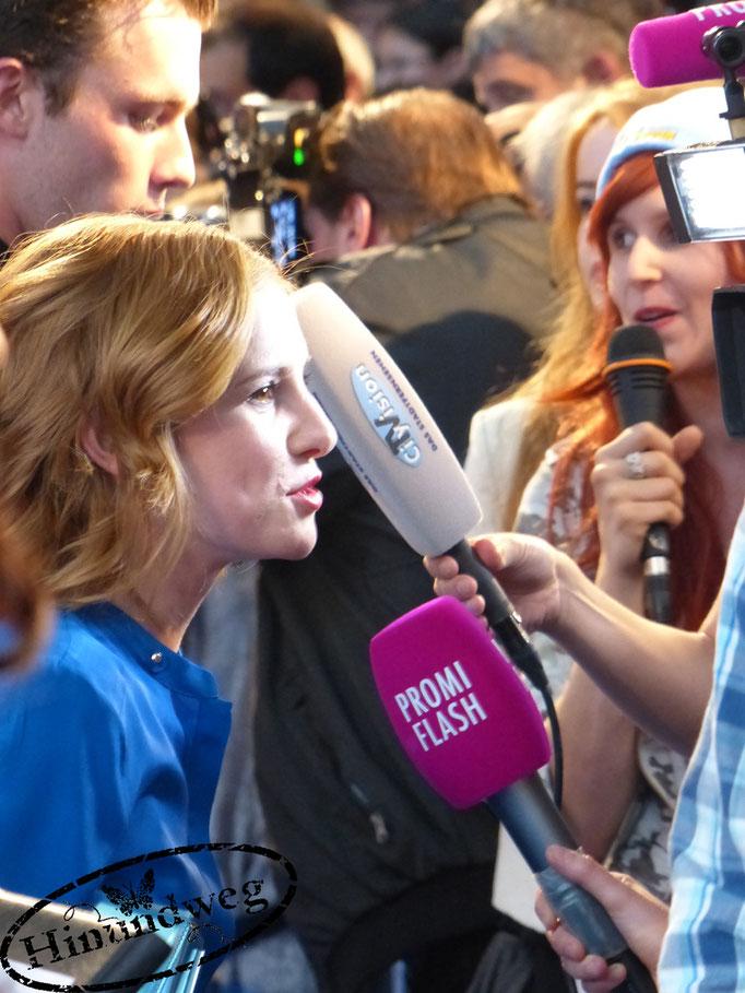 Josefine Preuß im Interview mit Promiflash