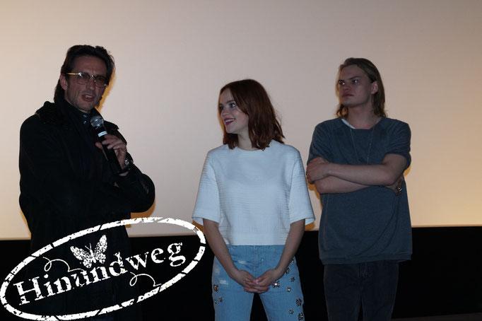 Regisseur Oskar Roehler, Emilia Schüle, Wilson Gonzales Ochsenknecht