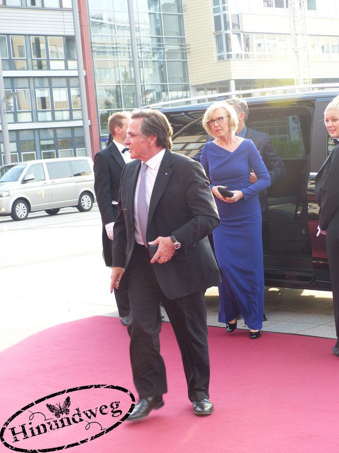 Elmar Wepper mit seiner Frau Anita Schlierf
