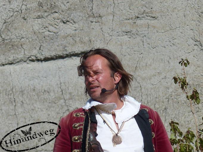 """Benjamin Kernen - """"Capt'n Joshua Flint"""" & Regie"""