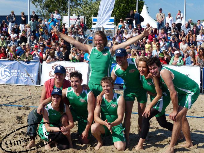 Beachvolleyball-Starcup-Team Sturm der Liebe