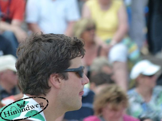 Moritz Tittel konzentriert