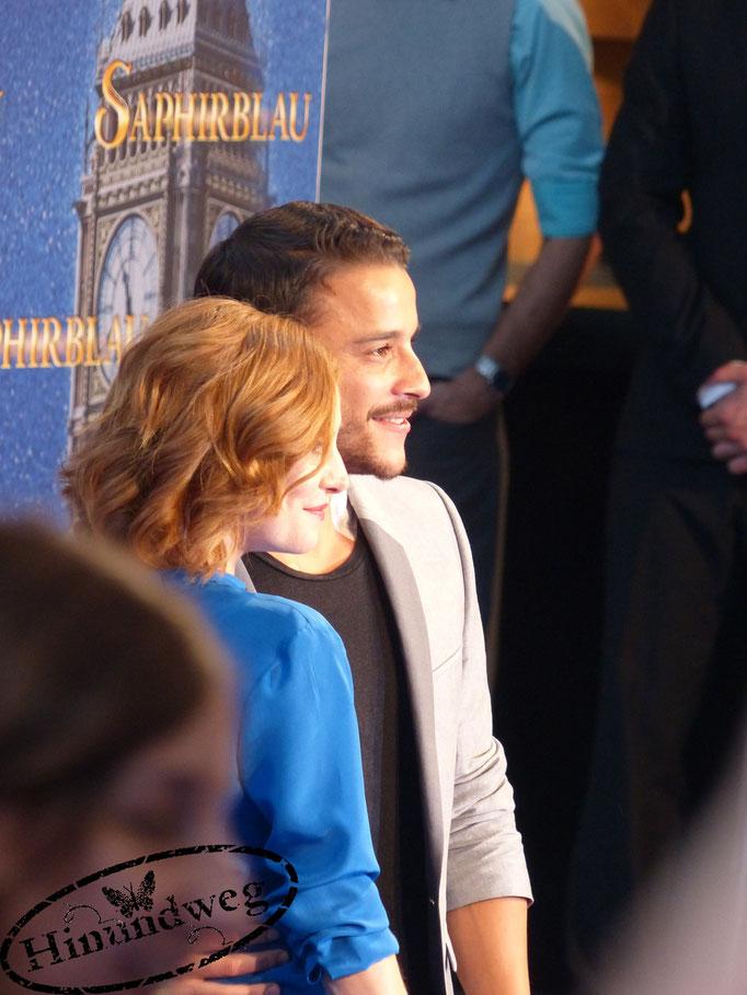 Josefine Preuß und Kostja Ullmann