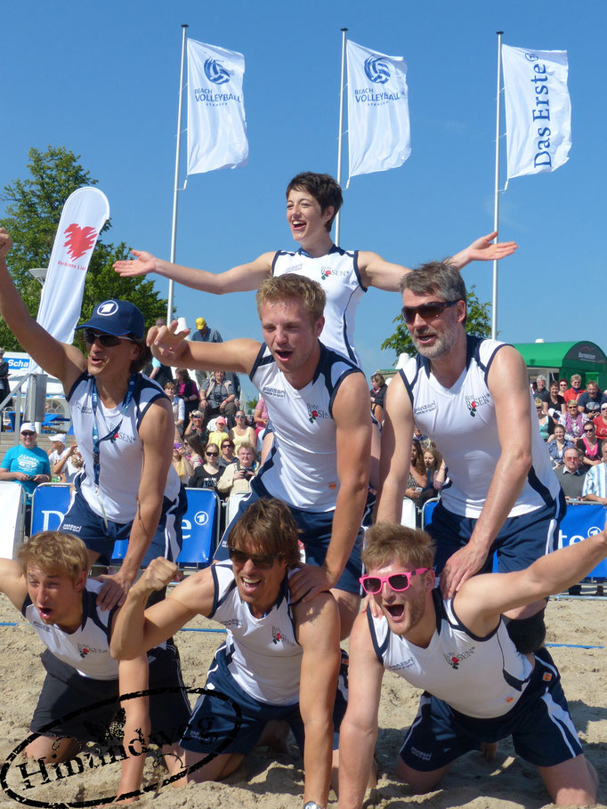 Beachvolleyball-Starcup-Team Rote Rosen