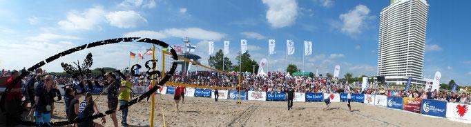 Beachvolleyball-Starcup 2013 in Travemünde
