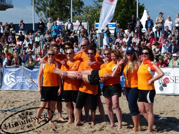 Beachvolleyball-Starcup-Team Brisant