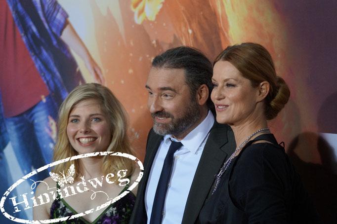 Lilian Prent mit Regisseur Tommy Krappweis und Esther Schweins