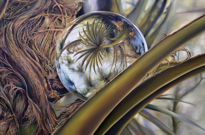 COMETA. Óleo/tela, 80 x 120 cm. Jorge Luna.