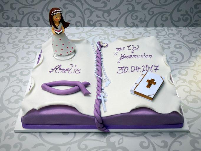 Exklusive torte f r kindergeburtstag taufe kommunion for Torte zur taufe selber machen