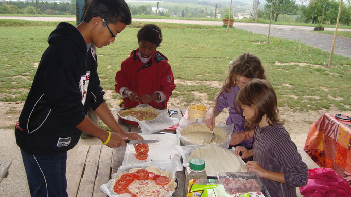"""Activité de vacances : Les enfants """" ont une idée"""" de menu..."""