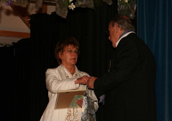 Bürgermeisterin der Stadt Gersfeld, Frau Margit Trittin