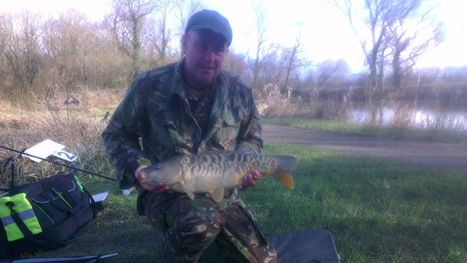 Paul's hard fighting 9lb Mirror Carp
