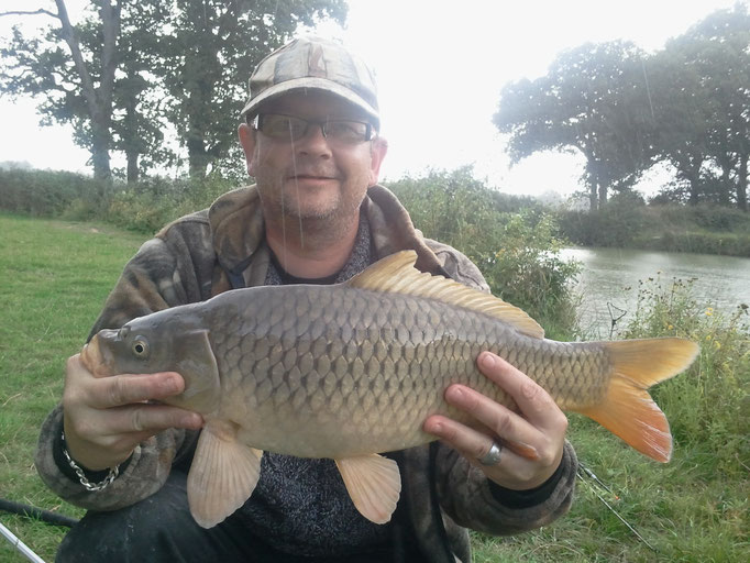 Phil Hall with a Cracking Common