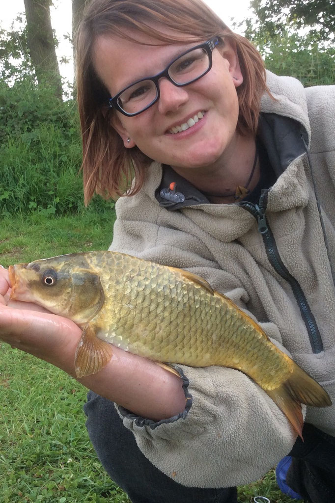 Another lovely golden coloured carp for Sarah