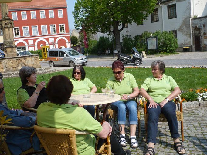 Lecker Eisessen am Naumburger Dom