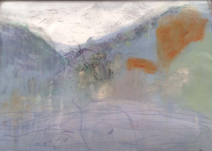 OT, Acryl auf Leinen, 50 x 70 cm, Preis auf Anfrage