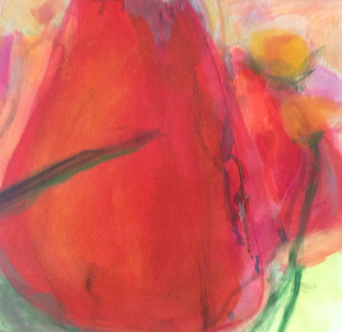 OT, Acryl auf Leinen, 40 x 40 cm, Preis auf Anfrage