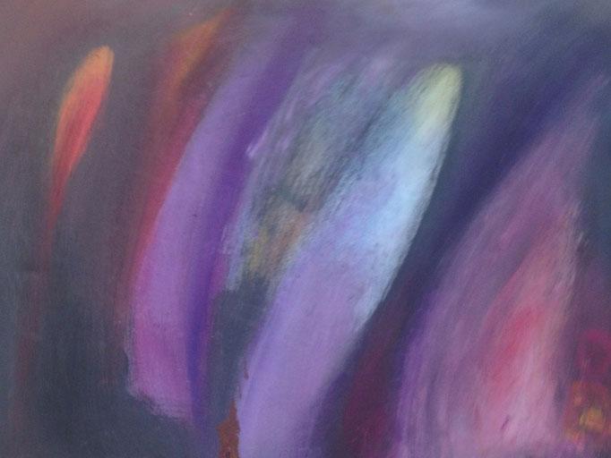 OT, Acryl auf Leinen, 100 x 70 cm, in Privatbesitz