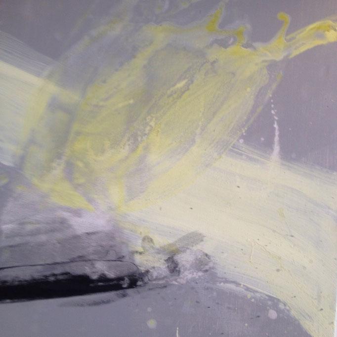 OT, Acryl auf Leinen, 60 x 60 cm, in Privatbesitz