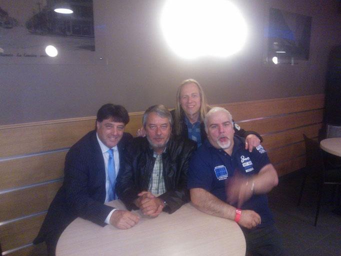 Franck Olivier, Gérard Marée & mon ami Antonio de ADM record