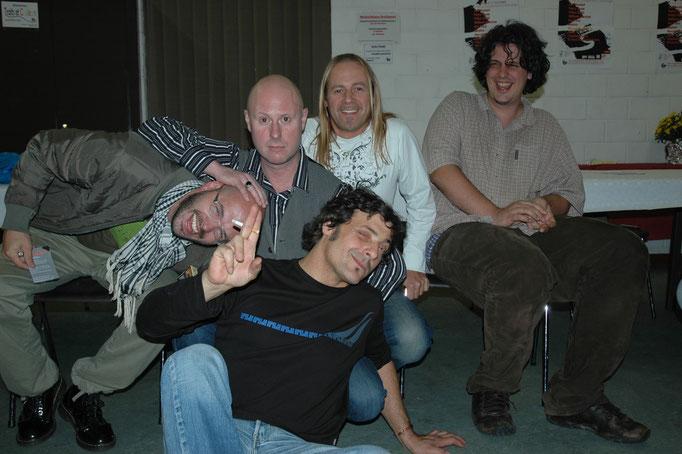 Franco, Manu, Jeff, Saule