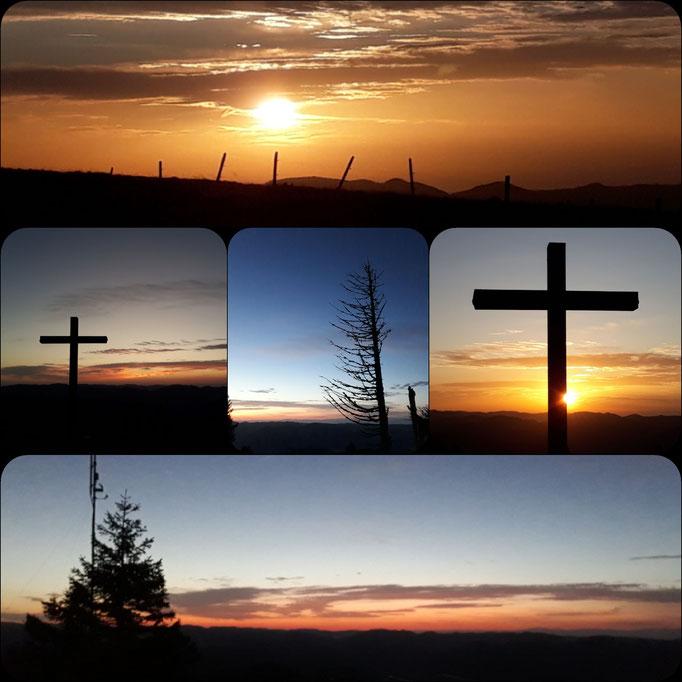 Belchen Sonnenaufgang