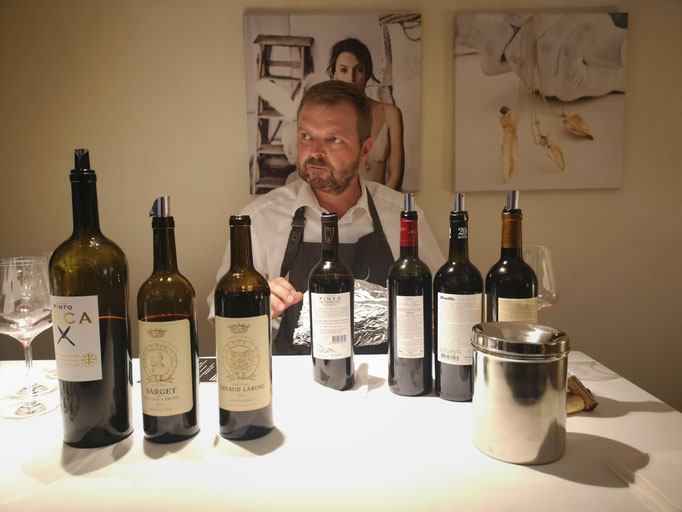 Stephan Lanz, Vinothek mille vins
