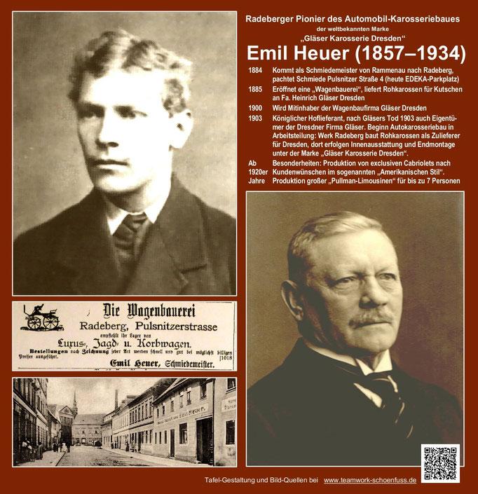 Emil Heuer -  Gläser-Karosserien 2. Sichttafeln Radeberg.  1 br-mi