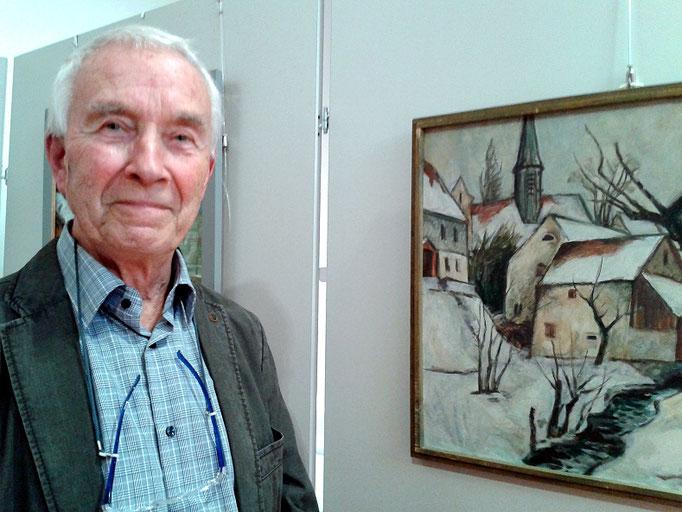 Christian Herold: Ausstellungseröffnung Langebrück 2016
