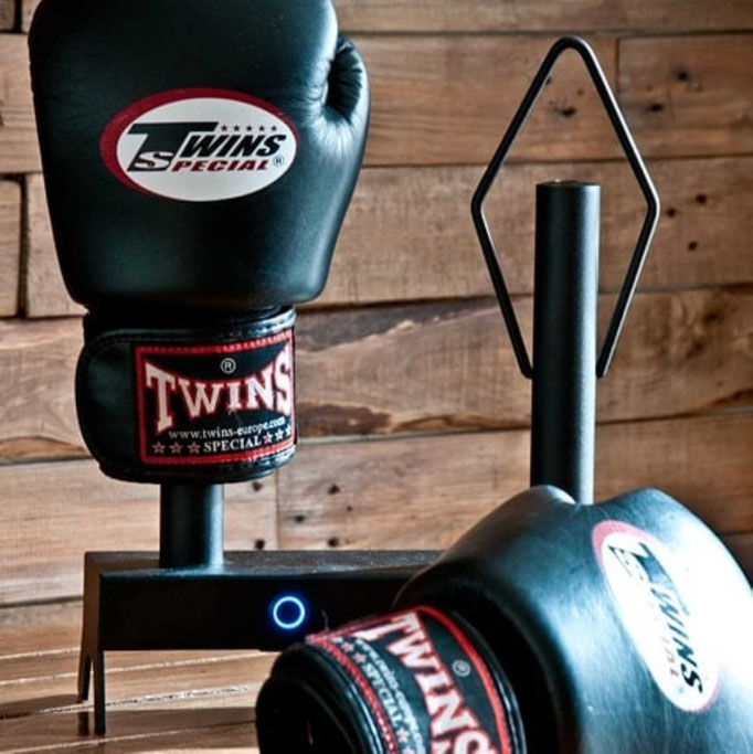 Twins special boxing gloves with dryer