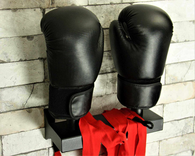 black boxing glove dryer wall mounting