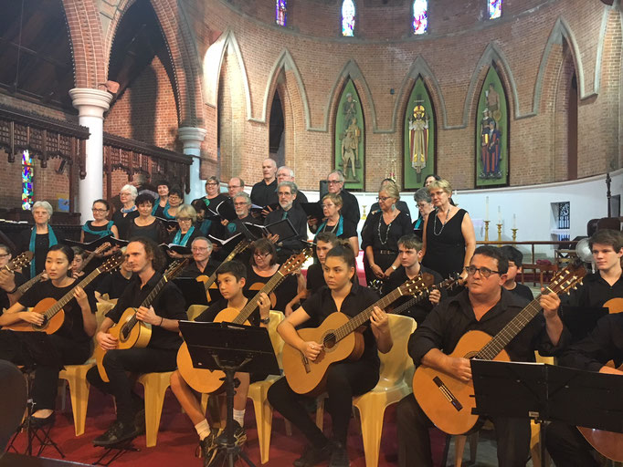 Allegro Choir and Townsville Guitar Orchestra in Concert, 4 Nov 2017