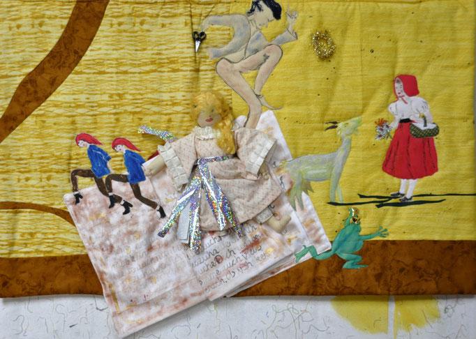 Märchen-Collage_c_Karin Flacke_Art Quilt