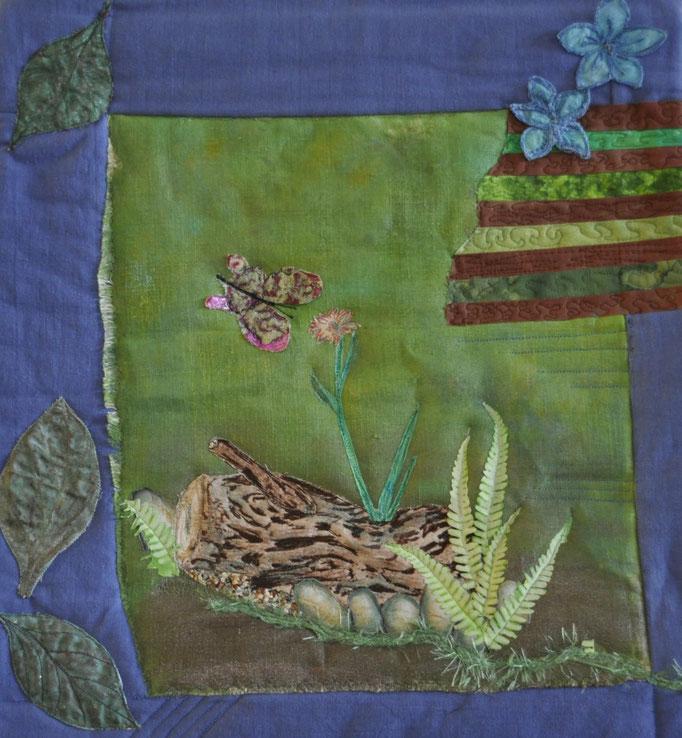 Stille_Art-Quilt by Karin Flacke