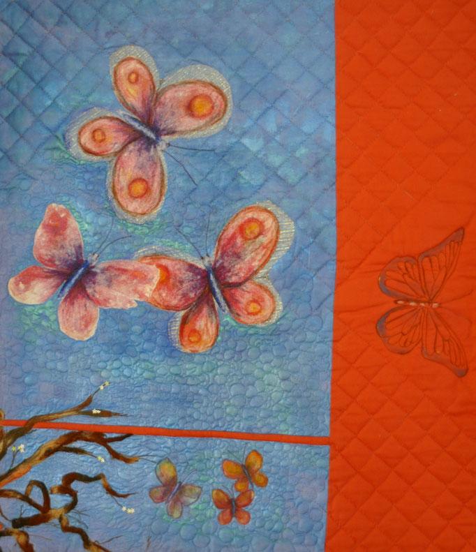 Serenade II_Art-Quilt by Karin Flacke