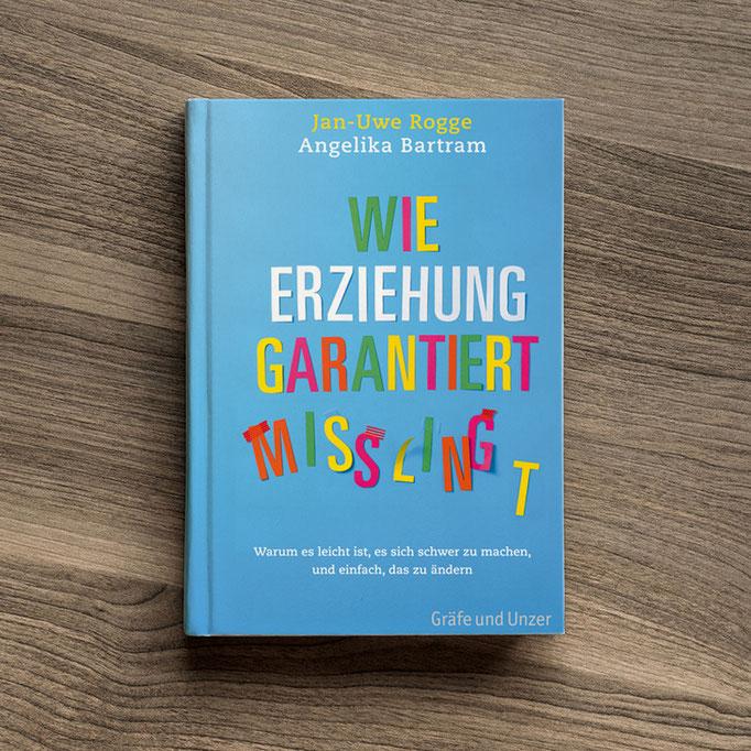 Illustration von Frank Schulz Art für Jan Uwe Rogge im GU Verlag zu Wie Erziehung garantiert misslingt