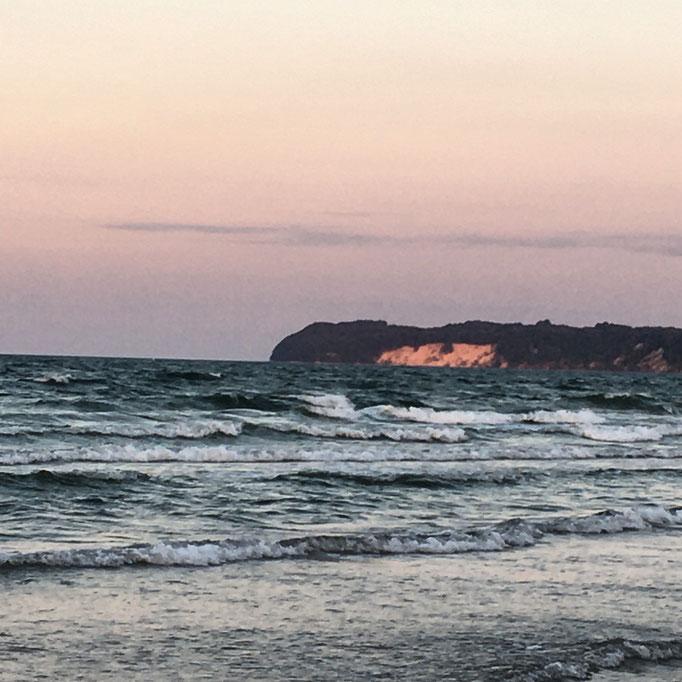 Blick azf die Steilküste von Binz