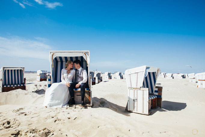 Paarfotos Hochzeit Sankt Peter-Ording Nordsee