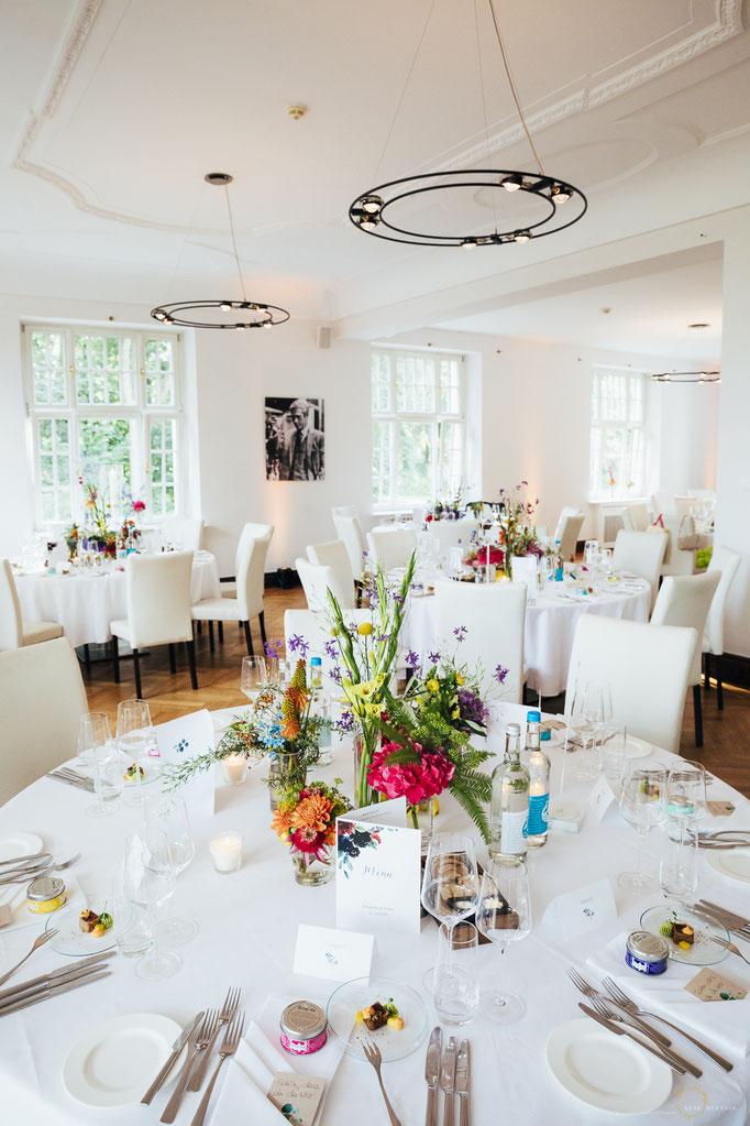 Hochzeitsfotos Villa im Heinepark Hamburg