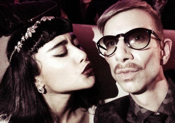 Martin Meister and Natalia Kills