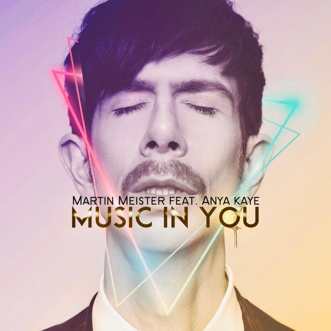 Martin Meister - Music in You single artwork. Photography by Philipp Jelenska.