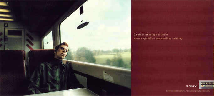 Martin Meister Sony UK poster advert campaign late 1990s