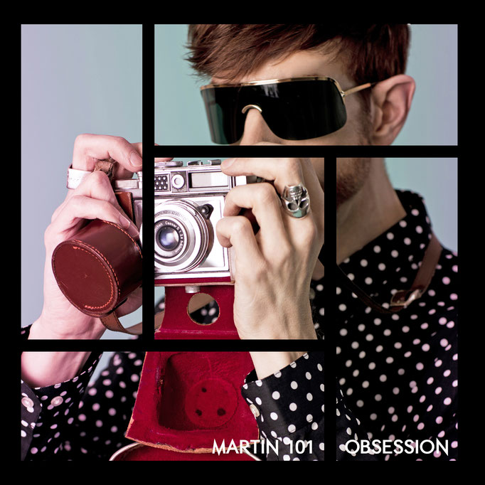 Martin Meister alias Martin 101 Obsession single. Photography by Michelle Pauty.