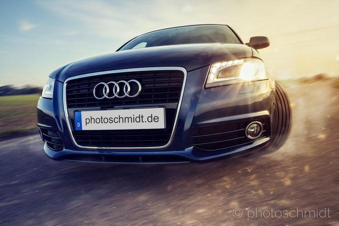 Audi beim Driften