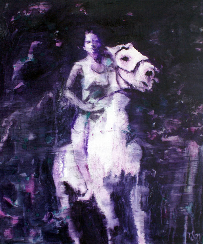White Horse 5 60x50 cm Oil/Canvas 2011