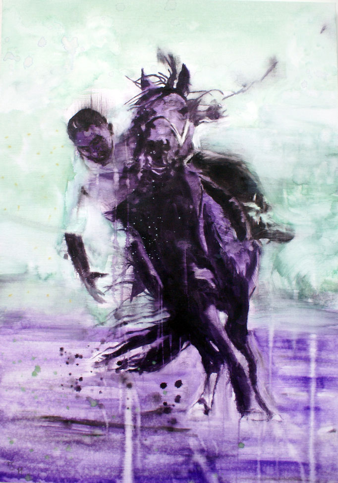 Black Rider 100x70 Oil/Canvas 2011