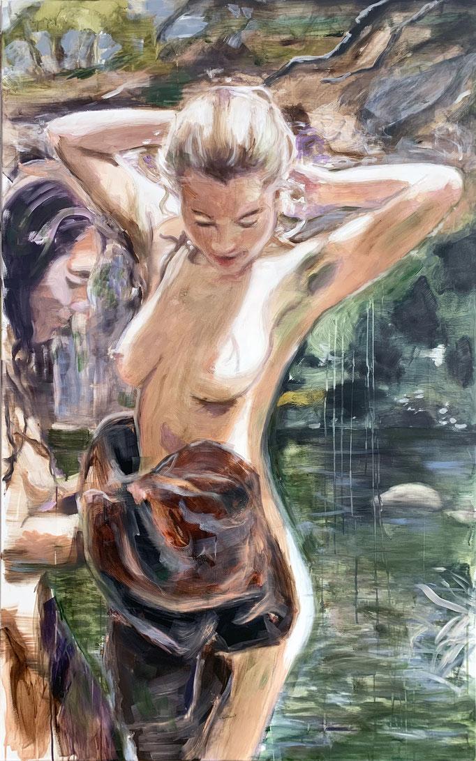 towel_2019_160x100cm_oil on canvas