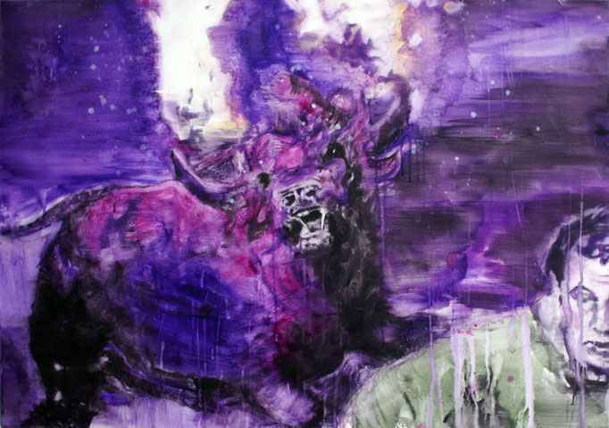 Bull 70x100 cm Oil/Canvas 2011