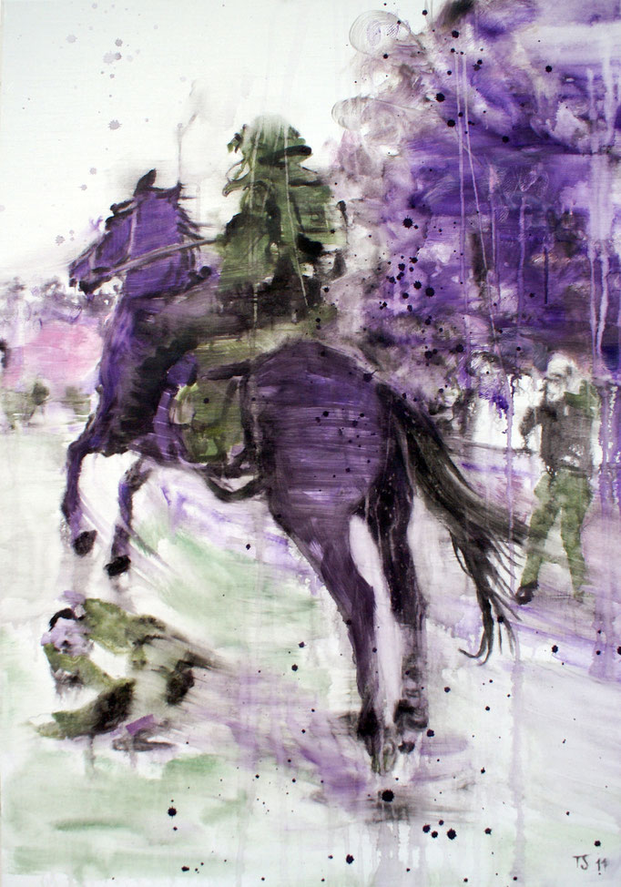 Black Rider2 100x70 Oil/Canvas 2011