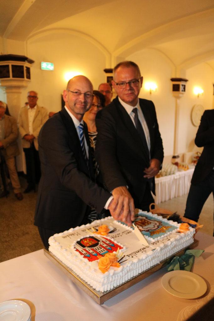 Bürgermeister Hann. Münden und Chelmno beim Festakt